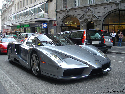 enzo silver on road