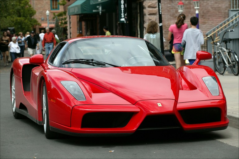 enzo red front 8
