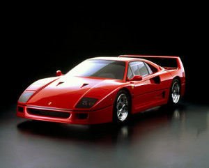 f40 red in studio