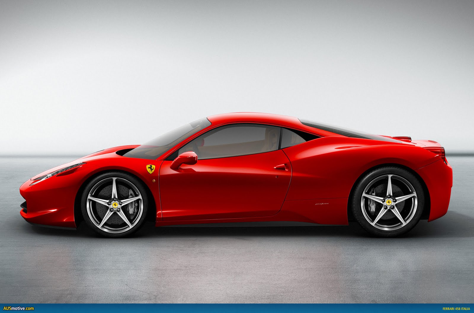f 458 red side view 20