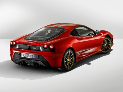 f430 red rear