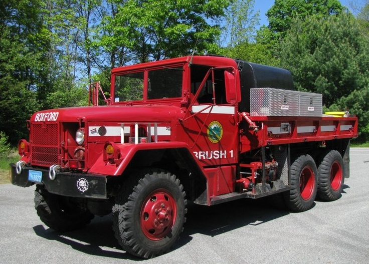 Boxford Fire Department (MA) 1975 AM General Military 1
