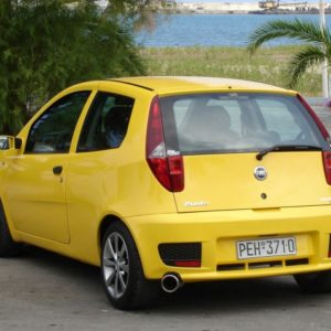 The New 2012 Fiat Punto car