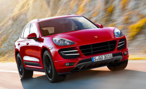 macan red suv