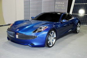 Fisker Karma Convertible Car