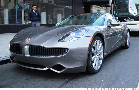Fisker Automotive is expected to unveil its new sedan 1