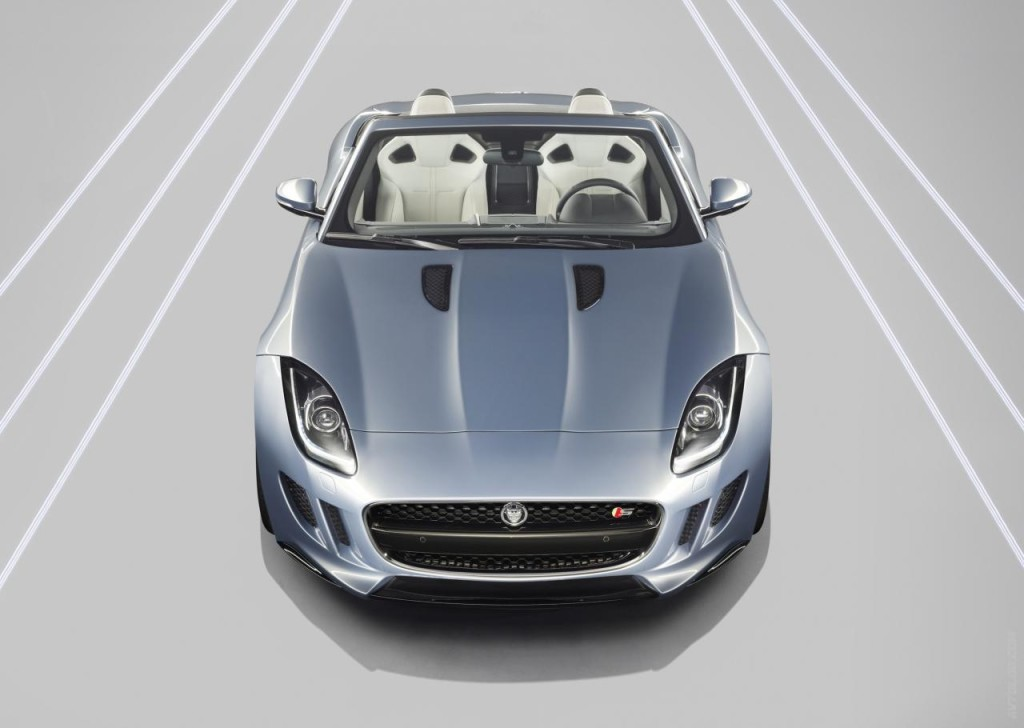 2013 Jaguar F-Type front angle view
