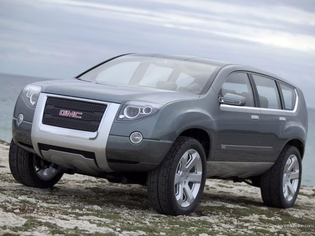 GMC Graphyte Hybride Concept - Driver side view gmc graphyte hybride concept ...  1