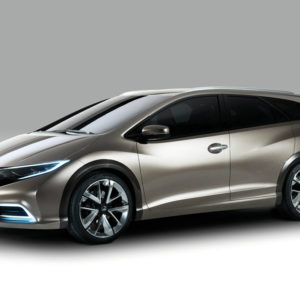 Latest 2014 Honda Civic Tourer Concept Car