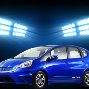 Honda Fit Ev 2013 Car is newest, stylish beautiful ..
