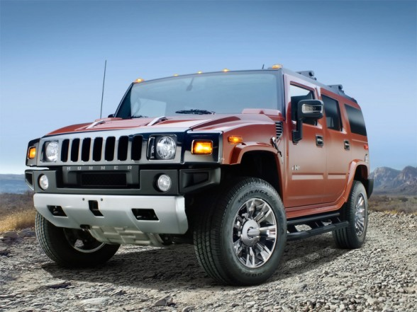 Hummer will bring the new H2 Black Chrome Limited Edition model for the 2009 ..  17