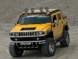 2011 Hummer H2 Front View