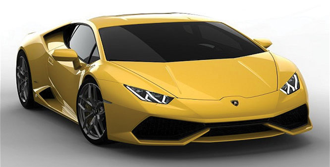 Lamborghini unveils new luxury car Huracan  8