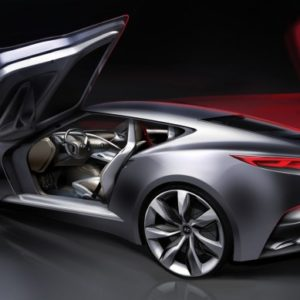 Hyundai HND-9 Concept Back View