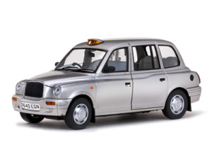 Metalic taxicab model