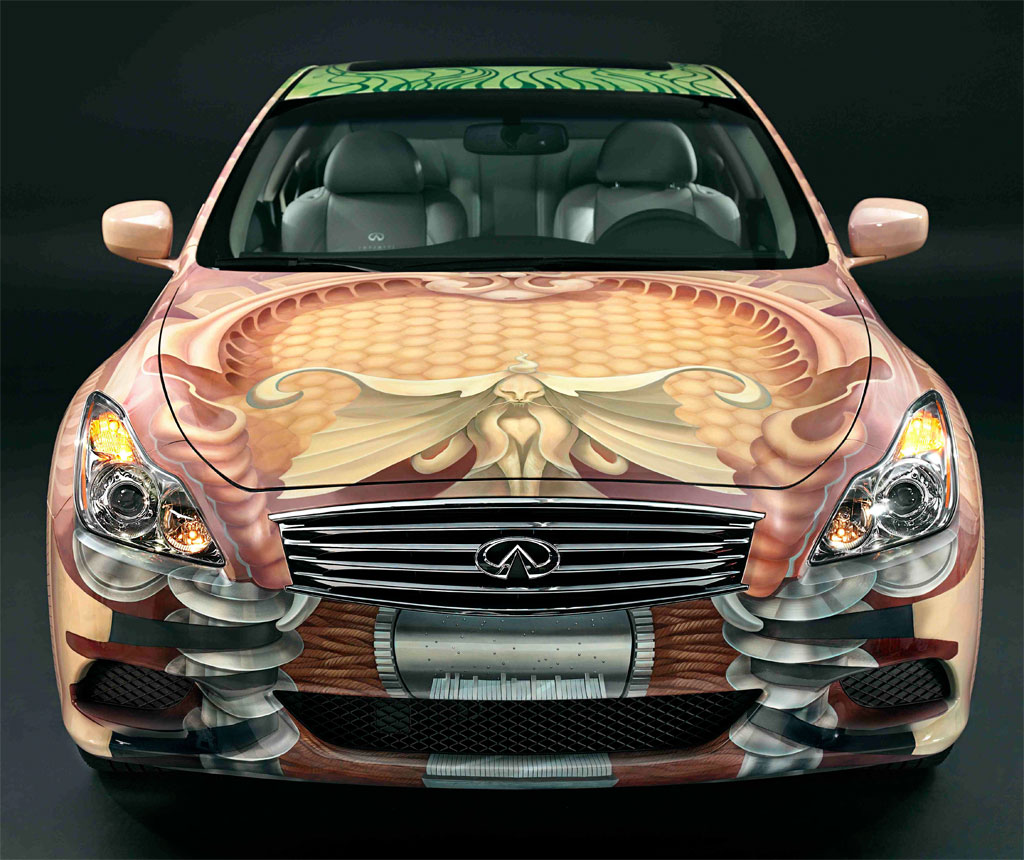 Infiniti Art Car: Everything Old Suddenly New Again