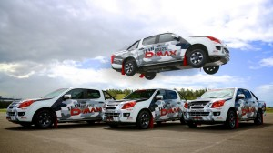 Isuzu D-Max flies into Precision Driving