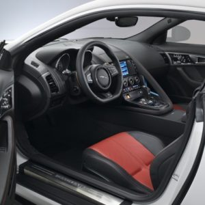 2014 Jaguar F-Type Coupe interiors