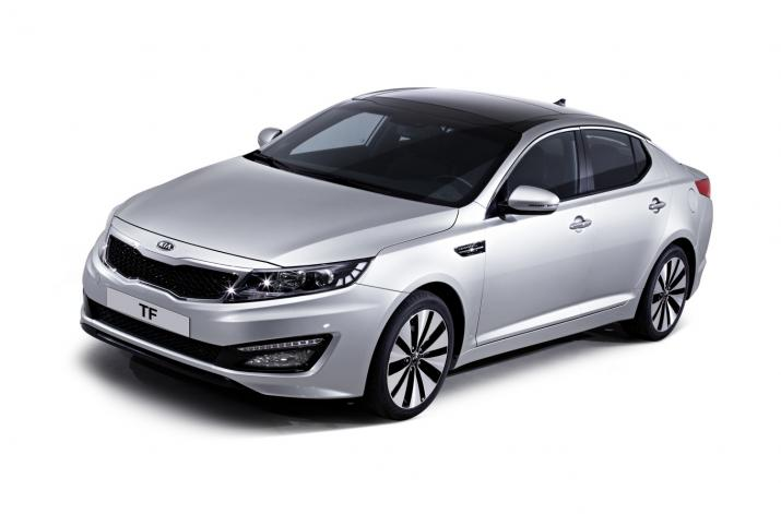 Kia K5 – Soon to be launched