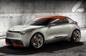 KIA showed their latest conceptcar.