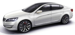 2010 kia vg concept Kia VG concept (KND 5) leaks to the web ahead