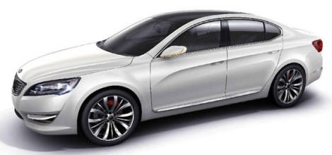 2010 kia vg concept Kia VG concept (KND 5) leaks to the web ahead  6