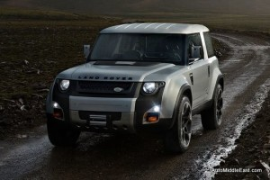 Land Rover DC 100 concept car