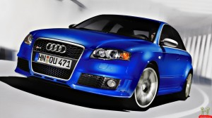 Latest Sports Cars Blue Color Audi Car