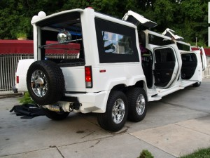 Limozin Large Hummer Limousine With Long Size Car
