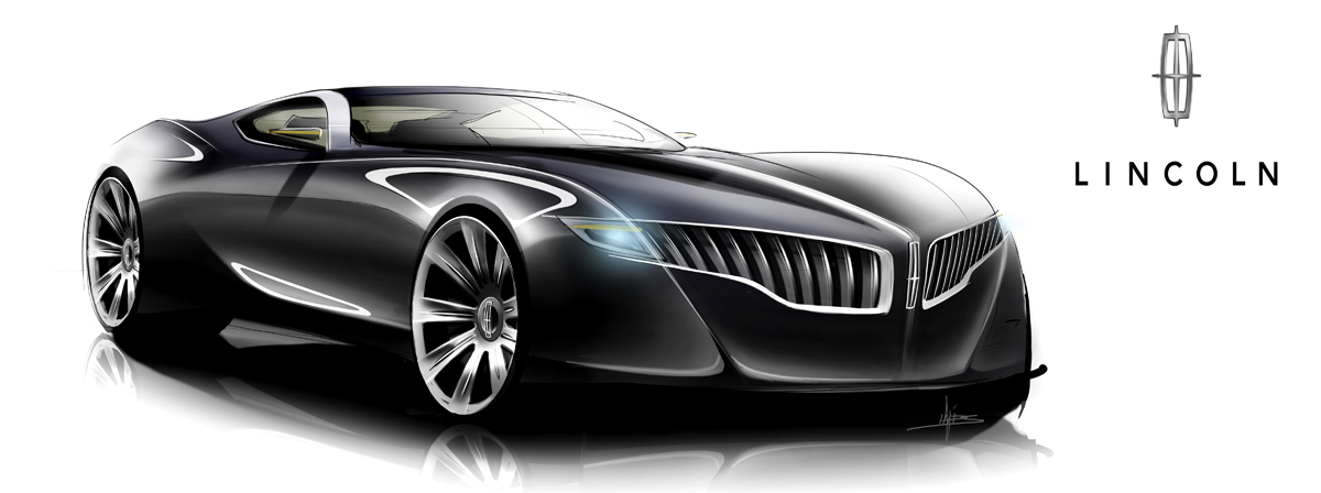 Lincoln Continental Coupe Concept  1