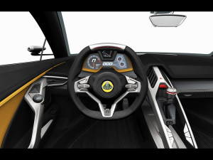 2015 Lotus Elise dashboard