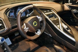 2015 Lotus Eterne interior view
