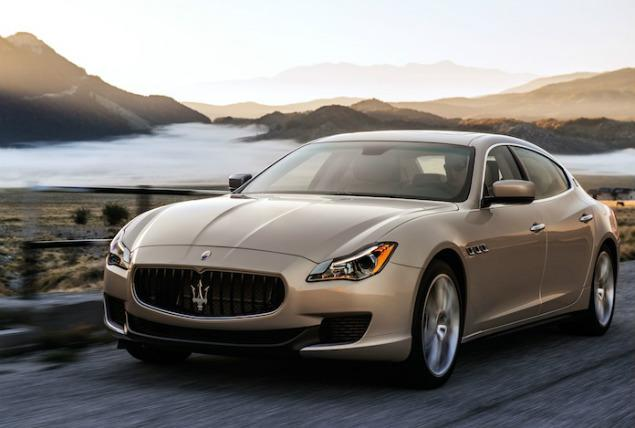 The 2014 Maserati Quattroport benefits from a Maserati-designed  3