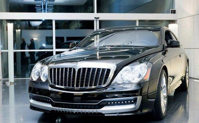 Maybach luxury car  4
