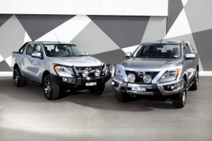 The all-new Mazda BT-50 ute will continue to be offered as the only diesel …