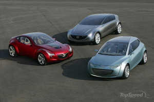 mazda concept trilogy
