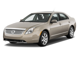 2010-mercury milan 4 door sedan premier fwd angular front exterior view