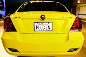 Coda presented its plug-in car