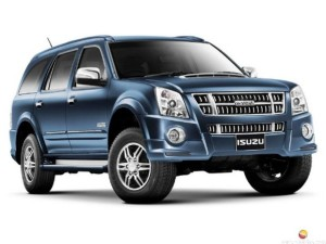 Isuzu launches MU-7 SUV