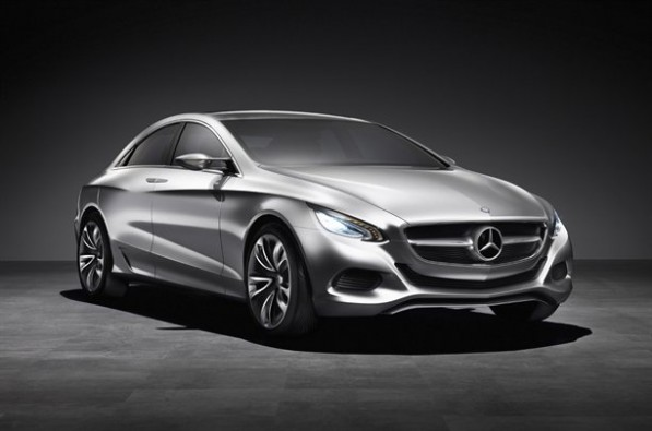 Mercedes Benz Set to Unveil New Concept Car  7