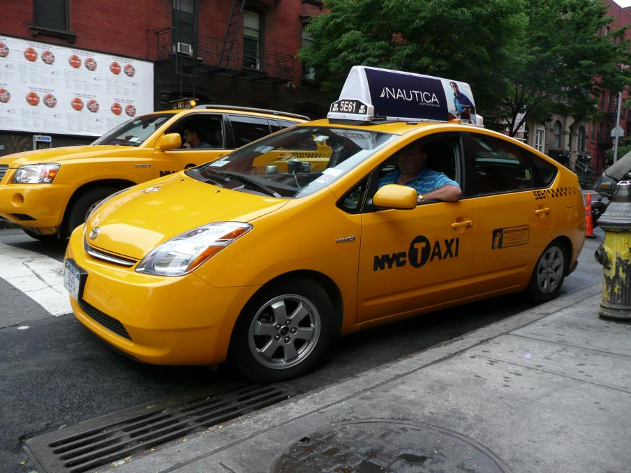 New York city taxi model 7