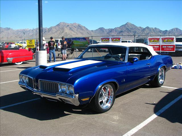 1970 Olds Pro-Touring 442 Convertible 4
