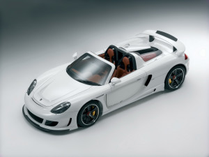 carrera gt top view