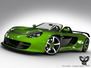 carrera gt green edition