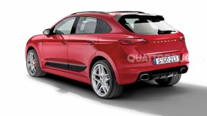 macan red rear