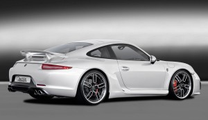 911 white rear side