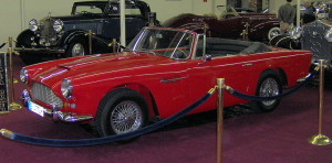 Aston Martin DB4 Series V convertible – 1962