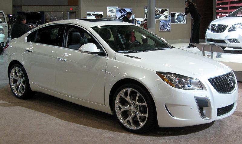 Buick Regal GS - 2012 1