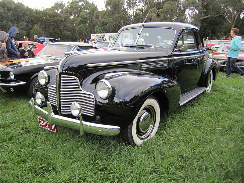 Buick Century coupe – 1940