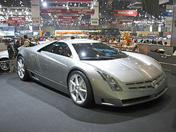 Cadillac Cien 2-door sports coupe – 2002